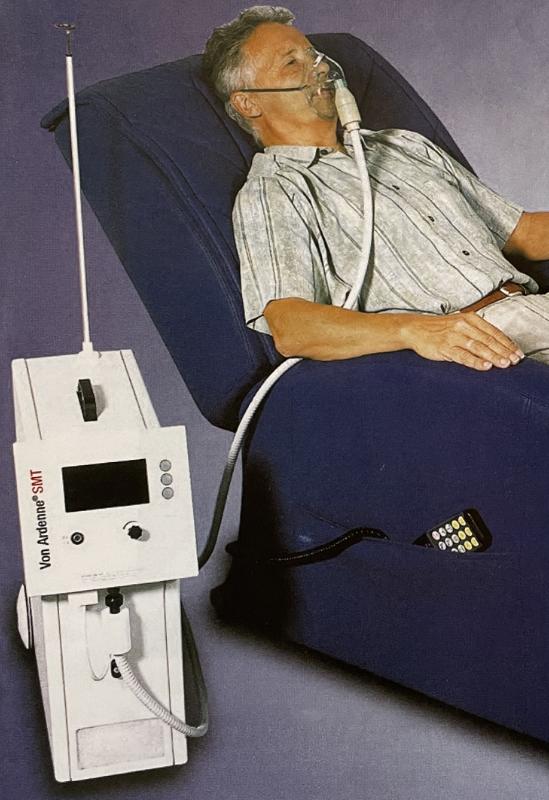 Von Ardenne Sauerstoff Mehrschritt-Therapie AMT